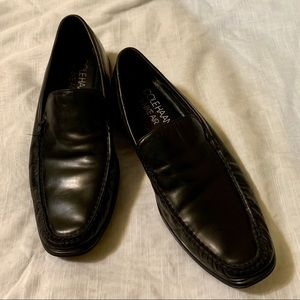Sz 9.5 M Cole Haan Black Drivers Loafers AIR 👞